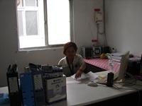 大社臨時村辦公處與志工