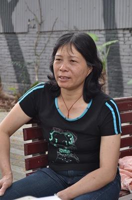 黃美珠希望政府能幫助他們重新站起來。蘇福男攝。
